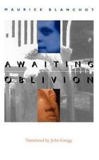 French Modernist Library: Awaiting Oblivion by Maurice Blanchot (1999,...