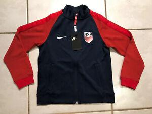 NWT NIKE USA National Team 2017 Gold Cup Soccer Jacket Youth Unisex Medium