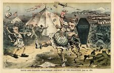 DAVID AND GOLIATH OVERTHROW AND ROUT OF THE PHILISTINES JOHN KELLY TAMMANY BOSS