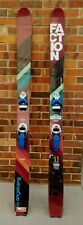 Faction Eleven Powder Skis with Pivot 14 Wtr Bindings