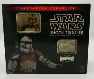 Star Wars Gentle Giant Shock Trooper Deluxe Bust 2006 SDCC Convention Exclusive