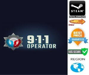 911 Operator PC Steam Global **FAST DELIVERY**
