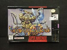 WeaponLord (Super Nintendo Entertainment System, 1995) SNES Box Only
