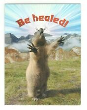 PRAIRIE DOG Leanin' Tree Get Well Greeting Card w/ Envelope MG1