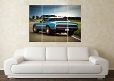 Large Pontaic Trans Am Firebird American Muscle V8 Car Poster Art Picture Print