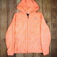Womens Vintage The North Face Fleece Jacket Orange Size S