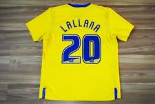 ADAM LALLANA #20 SOUTHAMPTON AWAY FOOTBALL SHIRT 2011-2012 JERSEY SIZE LARGE