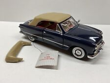 Franklin Mint 1949 Ford Convertible 1:24 Scale Die Cast Car with Hangtag