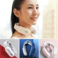 Intelligent Shoulder Neck Massage Instrument Electric Heat Pulse Massager w U3I1