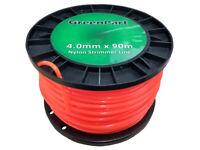 Brushcutter / Strimmer / Trimmer Nylon / Cord Line 4.0mm x 90m Long - Round 3mm