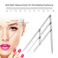 Silvery Mean CALIPER Eyebrow Microblading Supplies Permanent Makeup Measure Tool