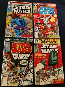 4 Marvel Star Wars 16 (1st app The Hunter, Beilert Valance),17,18,40