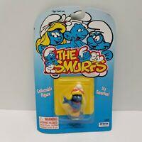Smurfs Smurfette Hula Luau Smurf Vintage Schleich Peyo Figure PVC Toy Figurine