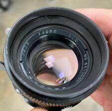 Js 35 Can Guang 40mm f/2 Cine Lens Kinoptik Angenieux Panchro Arri Std As Is