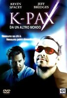 Film DVD - K-Pax – Da un altro mondo - Kevin Spacey e Jeff Bridges - Cinema