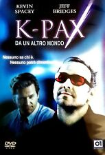 Film DVD - K-Pax – Da un altro mondo - Kevin Spacey e Jeff Bridges - Cinema