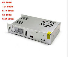 DC 60V 10A 600W/8A 480W/6A 360W Single Output Switching power supply AC to SMPS