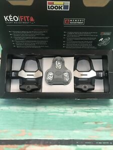 Look KEO 2 Max Road Cycling Pedals With KEO Grip Cleats