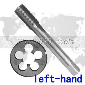 HSS M14 x 1mm Left Hand Tap and Die Metric Thread 1set