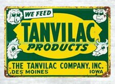Tanvilac Feed Products Sign metal tin sign tin plaque