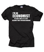 Funny Economist T-shirt MBA student Economist Economy Economics Sweater