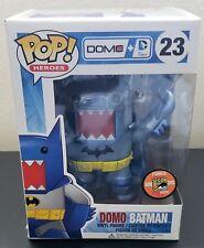 SDCC 2013 Funko Pop! Domo Batman #23 Metallic DC Comics