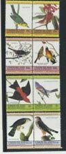 Birds Set of 8 Mint NH Complete St Vincent Union #186 - 189 $2.85 Retail Value