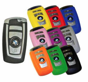 BMW Keyless Entry Key Fob Remote Rubber Cover 2010 2011 2012 2013 Jacket Skinz