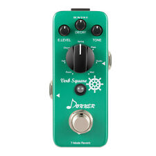 Top Qaulity Donner Digital Reverb Guitar Effect Pedal Verb Square 7 Modes