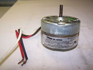 "MCMILLIAN 1/200 HP 1 PHASE 115V 1550 RPM BLOWER MOTOR 1"" SHAFT B483-4L-291/1"
