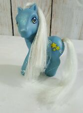 My Little Pony Sparkleworks Starbeam G3 2002 Blue Silver Mane Tail MLP