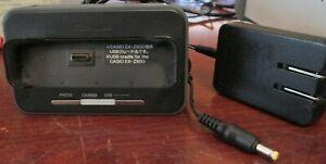 Casio Exilim USB Cradle CA-31 with AC Adapter AD-C52J 5.3V 650 mA