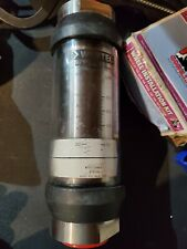 Webtec 6000 psi 100 gpm hydraulic flowmeter
