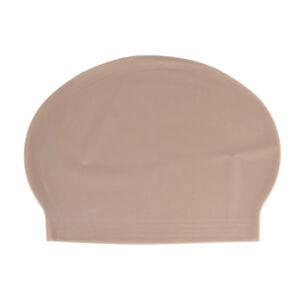 Fake Latex Flesh Skin Unisex Bald Head Wig Cap Rubber Skinhead Costume Prank  VV