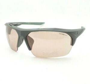 Nike Terminus Matte Grey Golf Course Flash Sunglasses Authentic New