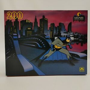 Vintage BATMAN THE ANIMATED SERIES Jigsaw Puzzle by Golden 200 pieces  1993