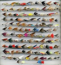 Trout Flies: Traditional Wet Flies x 101 Assorted sizes as shown (code 346b)