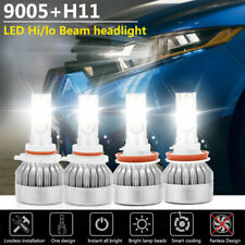 9005 H11 LED Headlight Kit Hi/Lo Beam Bulbs for Toyota Camry 07-17 Sienna 11-17