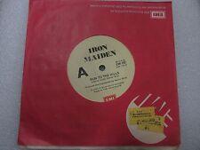 RARE AUSTRALIAN EMI IRON MAIDEN TOTAL ECLIPSE - RUN TO THE HILL  45 RECORD 1982