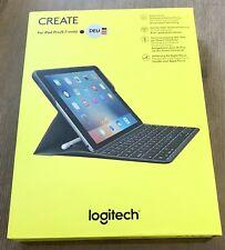 "Logitech Create Keyboard Case für iPad Pro 9.7"" mit Smart Connector DE 08355 NEU"