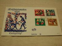 1964 Germany F.D.C CPL Wohlfahrtsnmarken