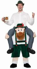Oktoberfest Beer Buddy - German Lederhosen Adult Mascot Costume