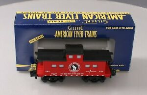 American Flyer 6-49017 S Scale Great Northern Animated Caboose/Box