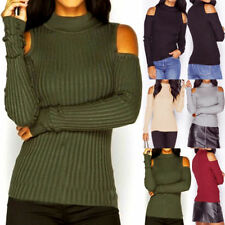 Cotton Blend Machine Washable Thin Knit Jumpers & Cardigans for Women