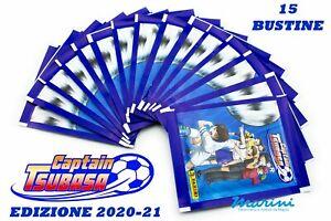 OFFICIAL CAPTAIN TSUBASA STICKER ALBUM COLLECTION PANINI 15 BUSTINE DI FIGURINE