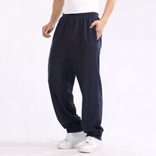 Hombre Pantalones de Chándal Informal Holgado Deporte Correr Gimnasio 2XL-6XL