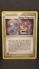 Pokemon Card Swoop! Teleporter - Team Rocket Returns - Uncommon, Near Mint