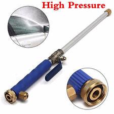 Blue Car Home Garden Washing Cleaner Spray High Pressure Water Gun Hose Nozzle