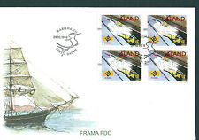 Aland 1999 Birds Frama set on unaddressed post office first day cover
