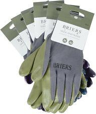 6 Pairs x Briers Seed & Weed Medium Multi Use Gardening Glove Building Gloves